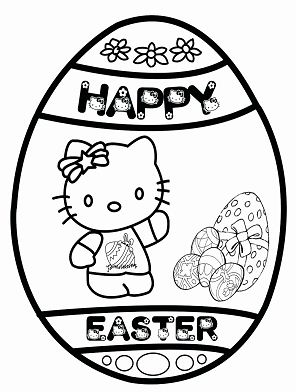 Hello Kitty with Religious Easter