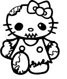 Hello Kitty Zombie 1