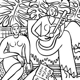 Henri Matisse - La Musique