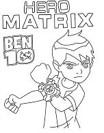 Hero Matrix Ben 10