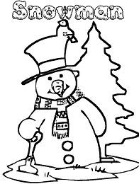 Holiday Of Snowman