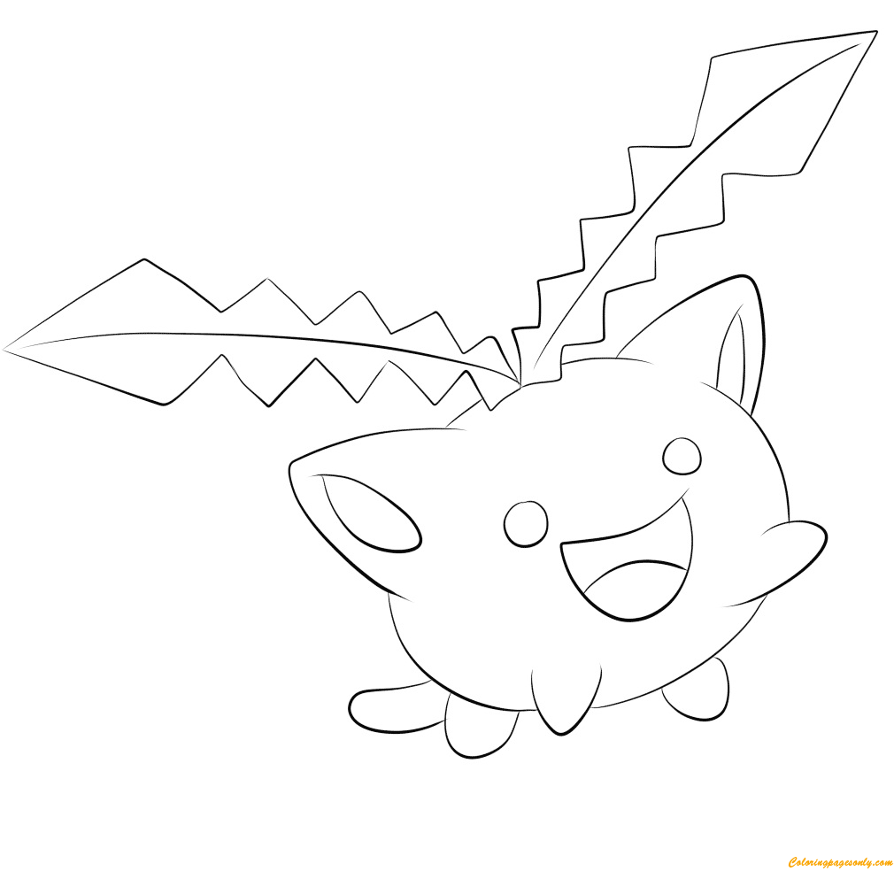 hoppip pokemon coloring pages  cartoons coloring pages