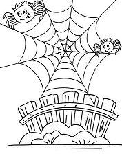 Humoristic Spiderweb
