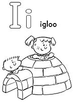 I for Igloo Image