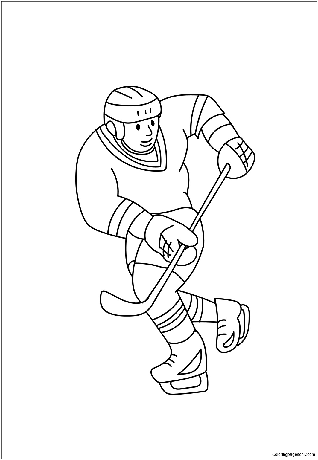 free download hockey coloring pages nhl on 17 best images about lincoln pinterest hockey. Black Bedroom Furniture Sets. Home Design Ideas