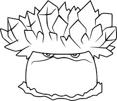 Ice-shroom Coloring Page