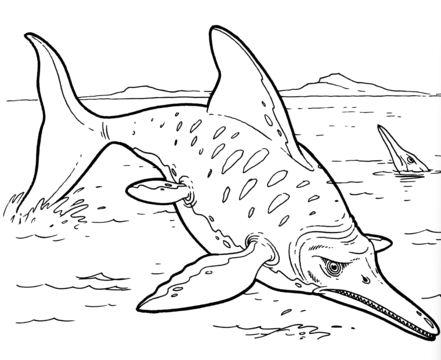 Ichthyosaur Dinosaurs