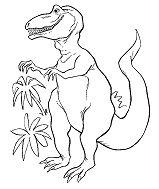 Iguanodon Dinosaur 4 Coloring Page