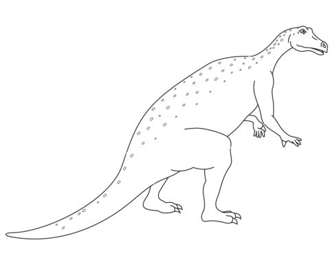 Iguanodon Jurassic Dino