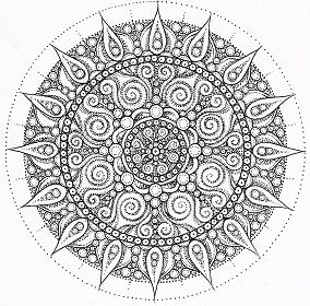 Indian Ceremony Mandala