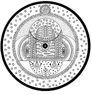 Indian Cosmic Spheres Mandala