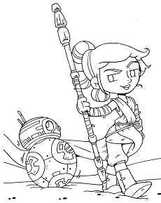 Innovative Star Wars Bb8 Coloring Page