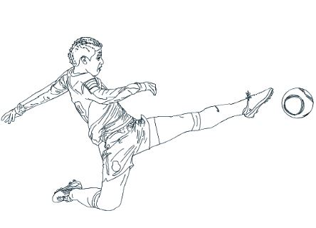 James Rodriguez-image 2 Coloring Page