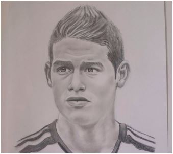 James Rodriguez-image 6 Coloring Page