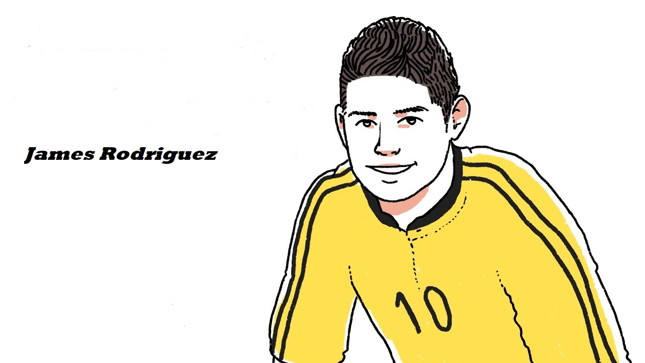 James Rodriguez-image 8 Coloring Page