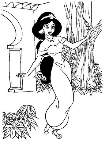 Jasmine In The Garden  from Aladdin