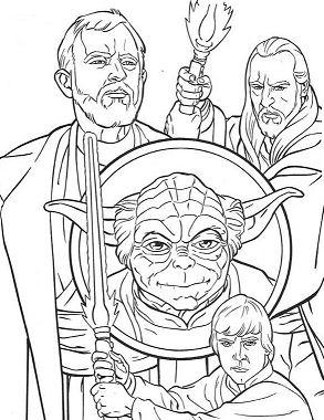 Jedi Knights And Yoda