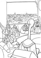 Jedi Knights Coloring Page