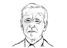 Joe Biden For President Coloring Page
