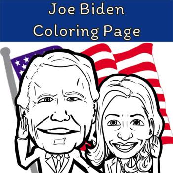 Joe Biden Vs Wife Coloring Page