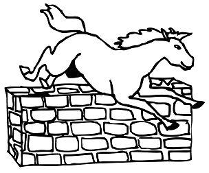Jumping Horse 1