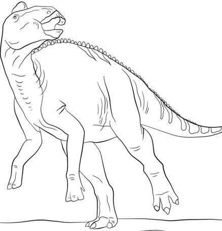 Jurassic Edmontosaurus