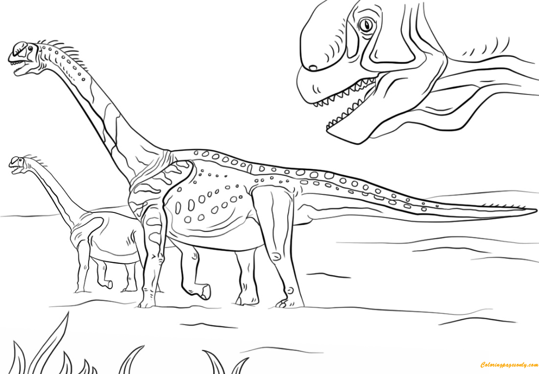 Jurassic World Coloring Pages 33 | 764x1100