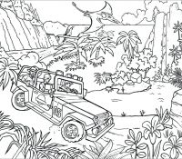 Jurassic World 26 Coloring Page