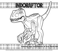 Jurassic World 21 Coloring Page