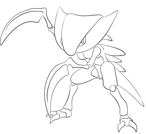 Marill Pokemon Coloring Page - Free Coloring Pages Online