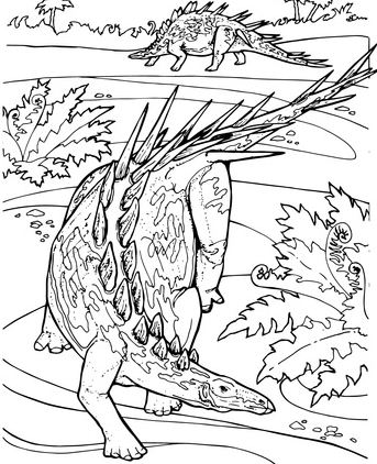 Kentrosaurus Stegosaurid Jurassic Dinosaur
