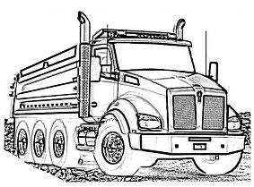 Kenworth Log Truck