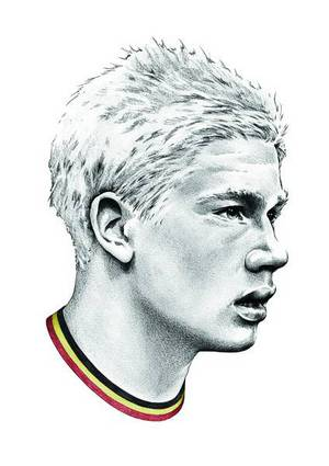 Kevin De Bruyne-image 3 Coloring Page