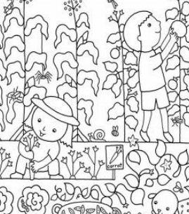 Kids Flower Gardens