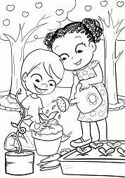 Kids Gardening 1
