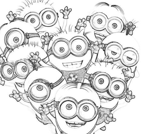 Kids Minions Despicable Me S0085