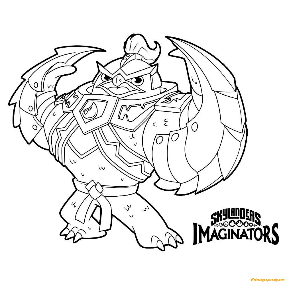 King Pen Coloring Page Free Coloring