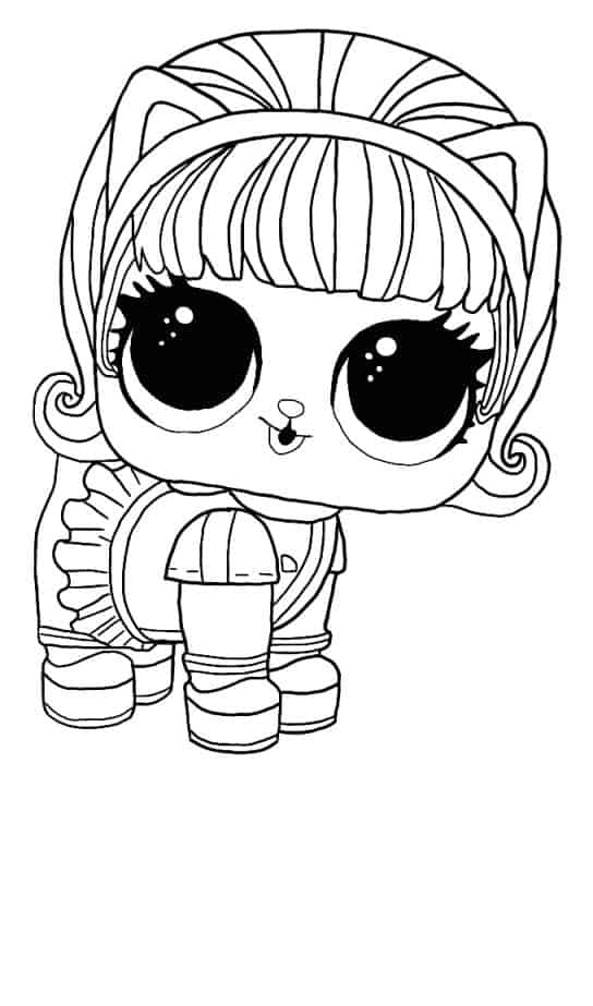 Lol Suprise Doll Kitty 500