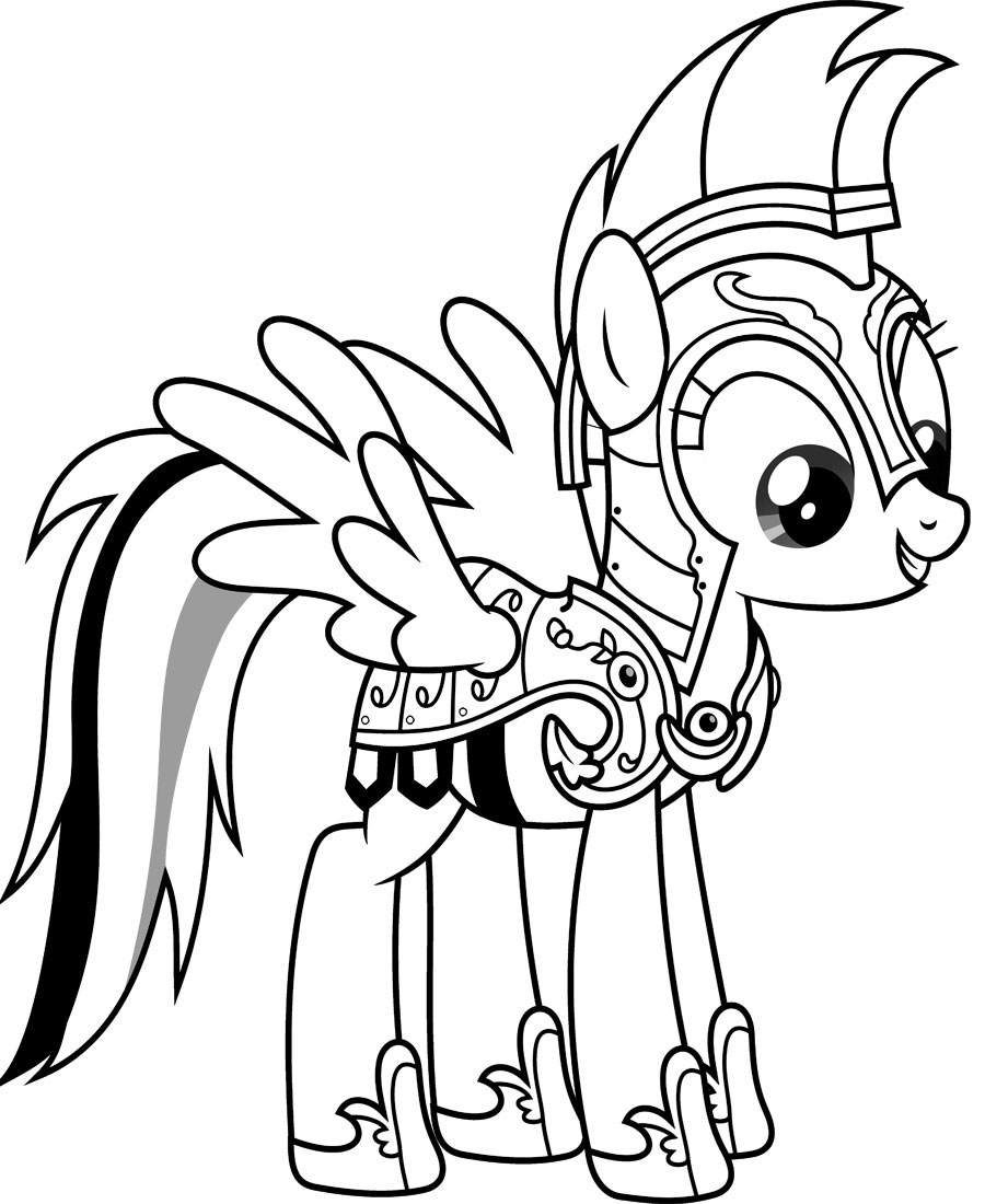 Rainbow Dash Coloring Page Rainbow Dash Coloring Pages  Coloringpagesonly
