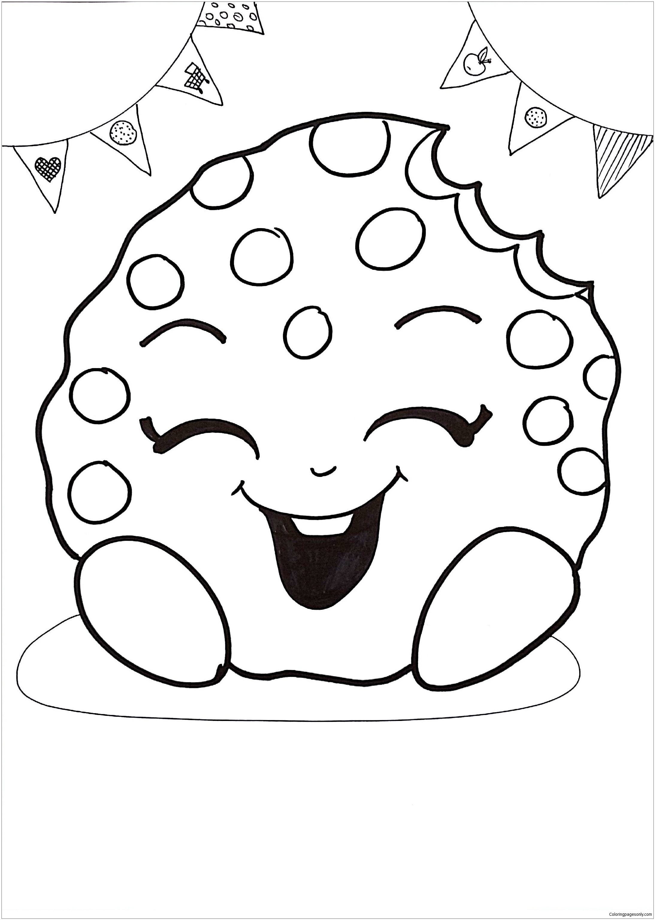 - Kooky Cookie Shopkins Coloring Page - Free Coloring Pages Online