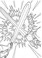 Laser Sword Duel