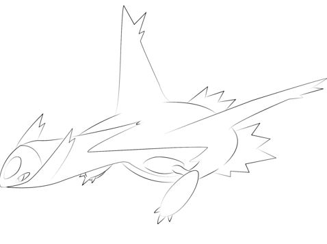 related coloring pages latios from pokemon