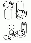 Learning letter I and J With Hello Kitty Coloring Page