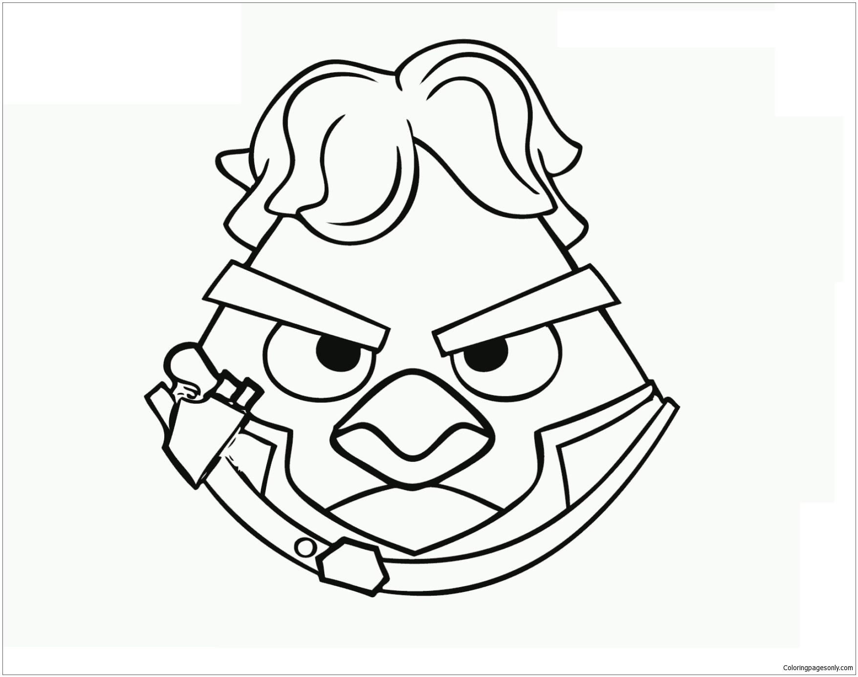 Coloring Pages Angry Birds. Print online for kids, best images | 1385x1755