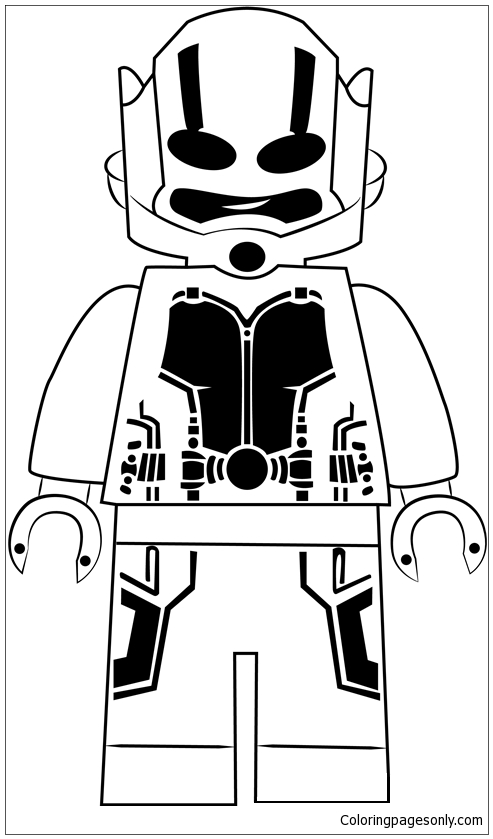 ant-man-0009 - Coloring pages for kids | 839x493