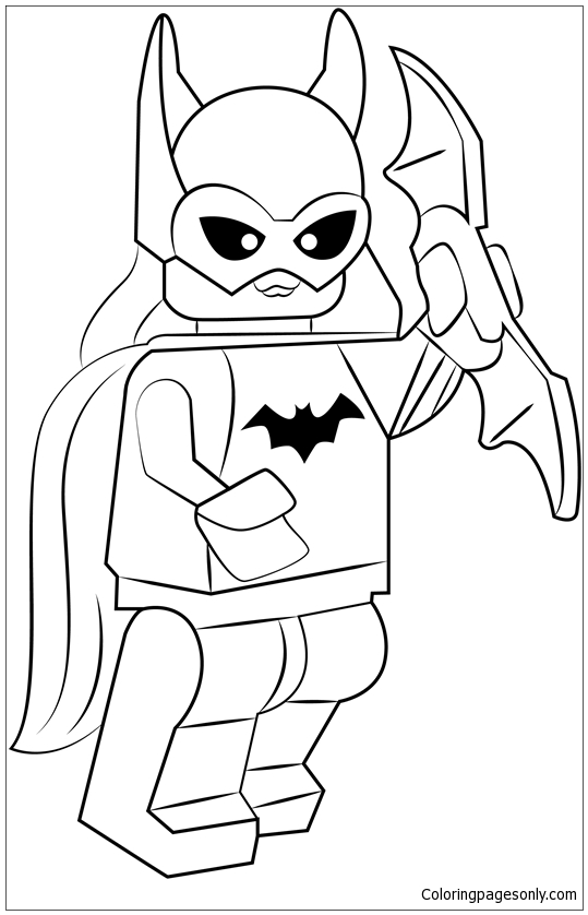 Lego Batgirl Coloring Pages Toys And Dolls Coloring Pages Free Printable Coloring Pages Online