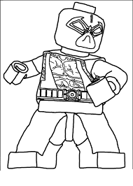 Lego Batman 6 Coloring Page