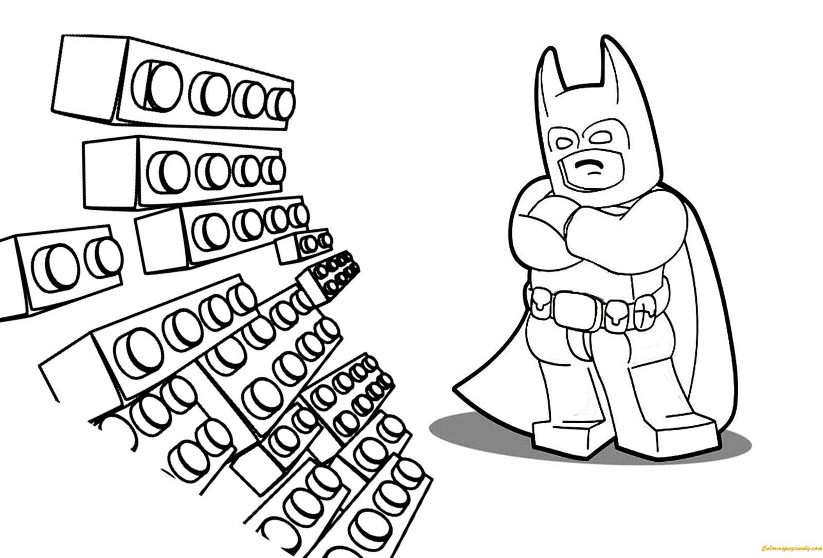 Lego Batman Movie Coloring Page