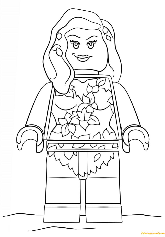 Lego Batman Poison Ivy Coloring