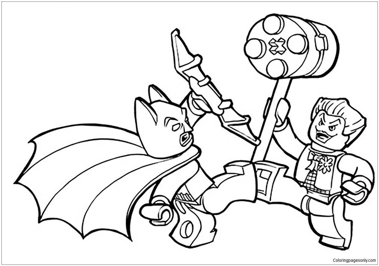 - Lego Batman Coloring Page - Free Coloring Pages Online
